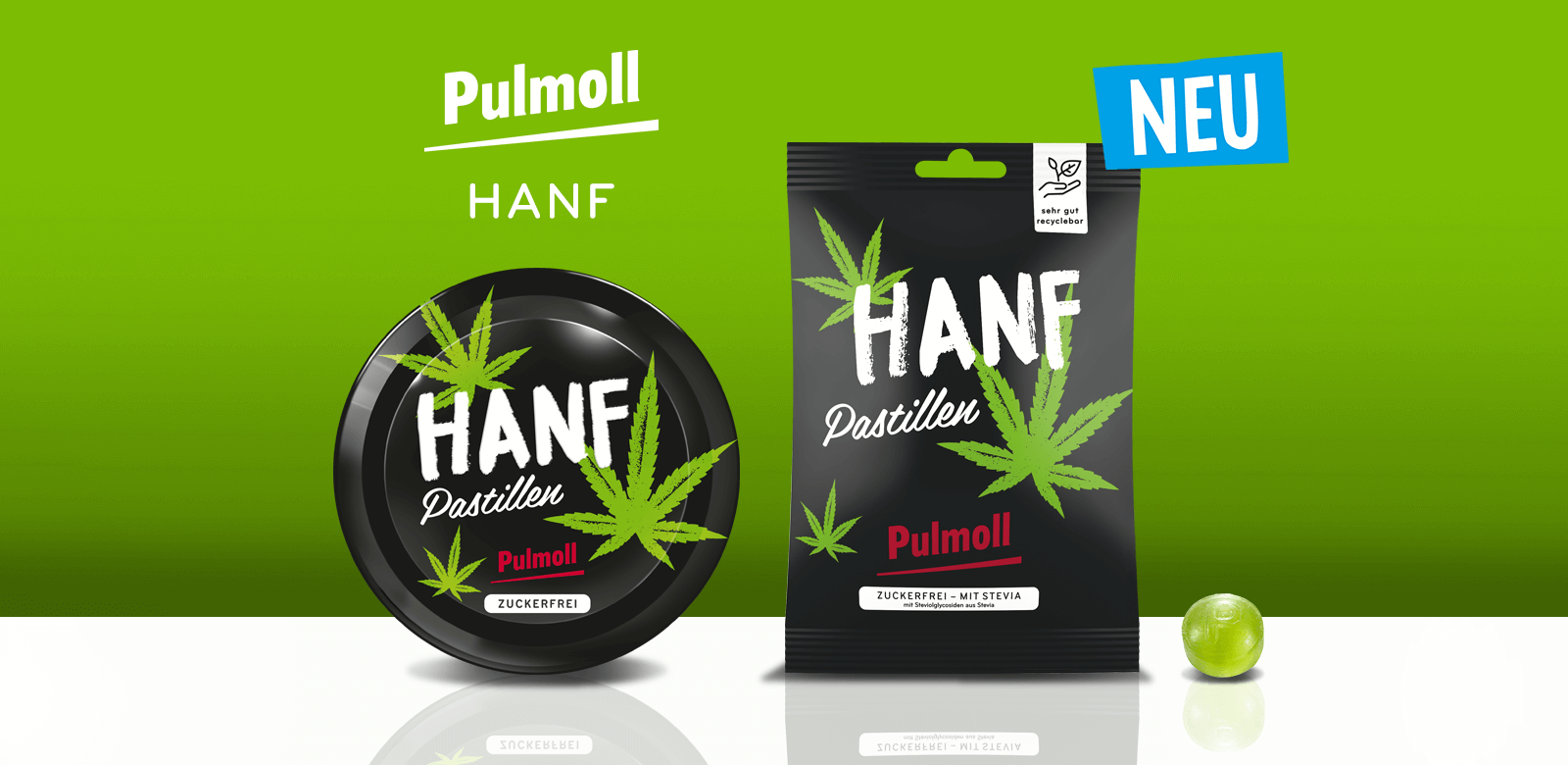 Hanf - Neue Hustenbonbon SOrte