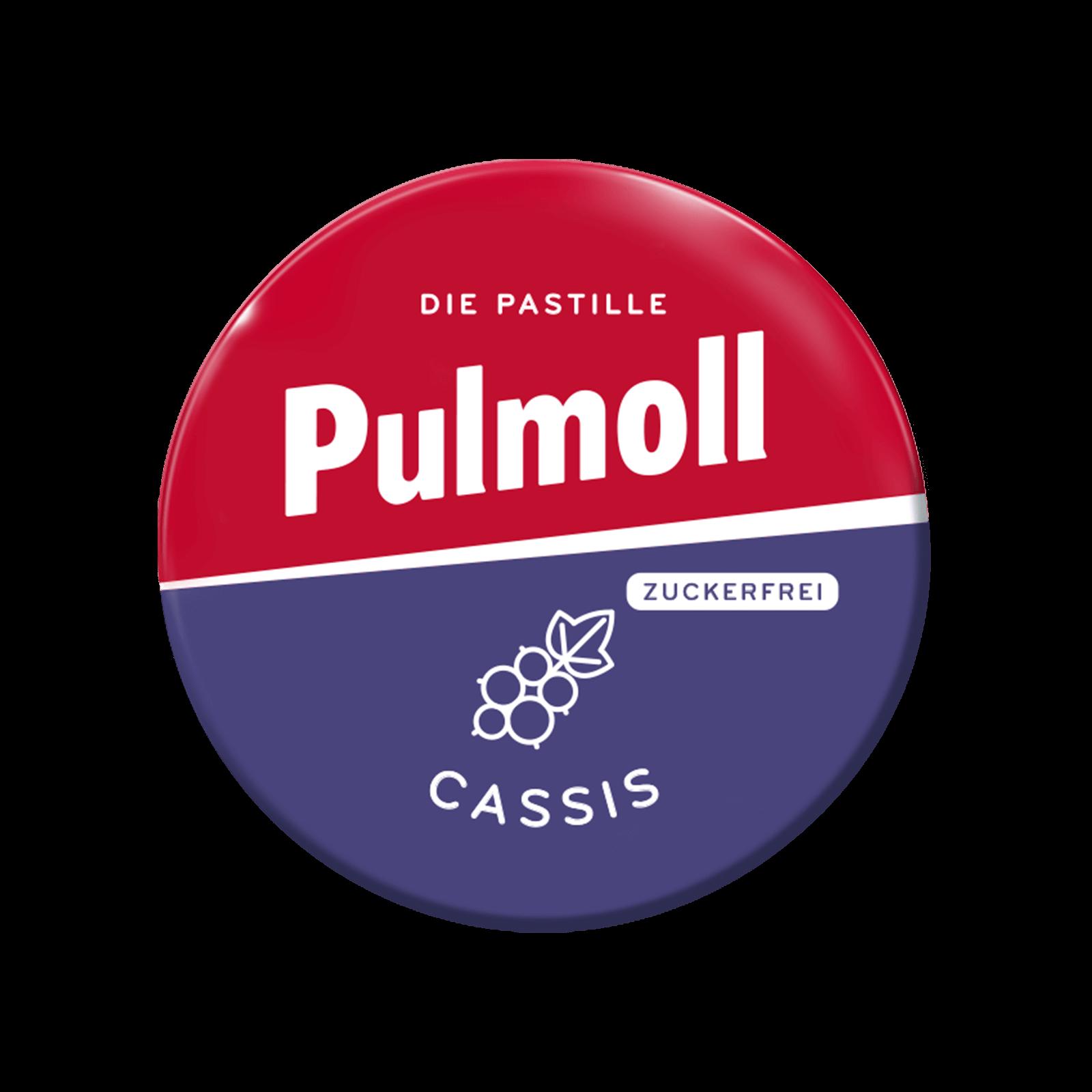 Pulmoll Hustenbonbon Cassis Minidose