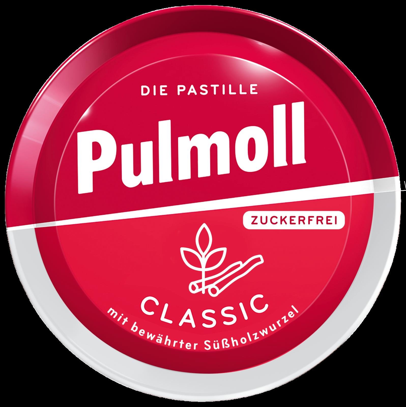 Pulmoll Hustenbonbon Classic zuckerfrei Dose