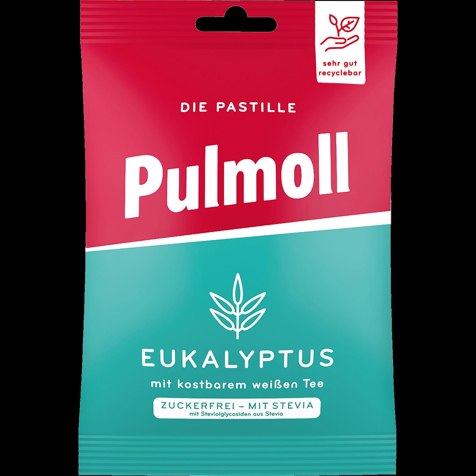 Pulmoll Hustenbonbon Eukalyptus Beutel