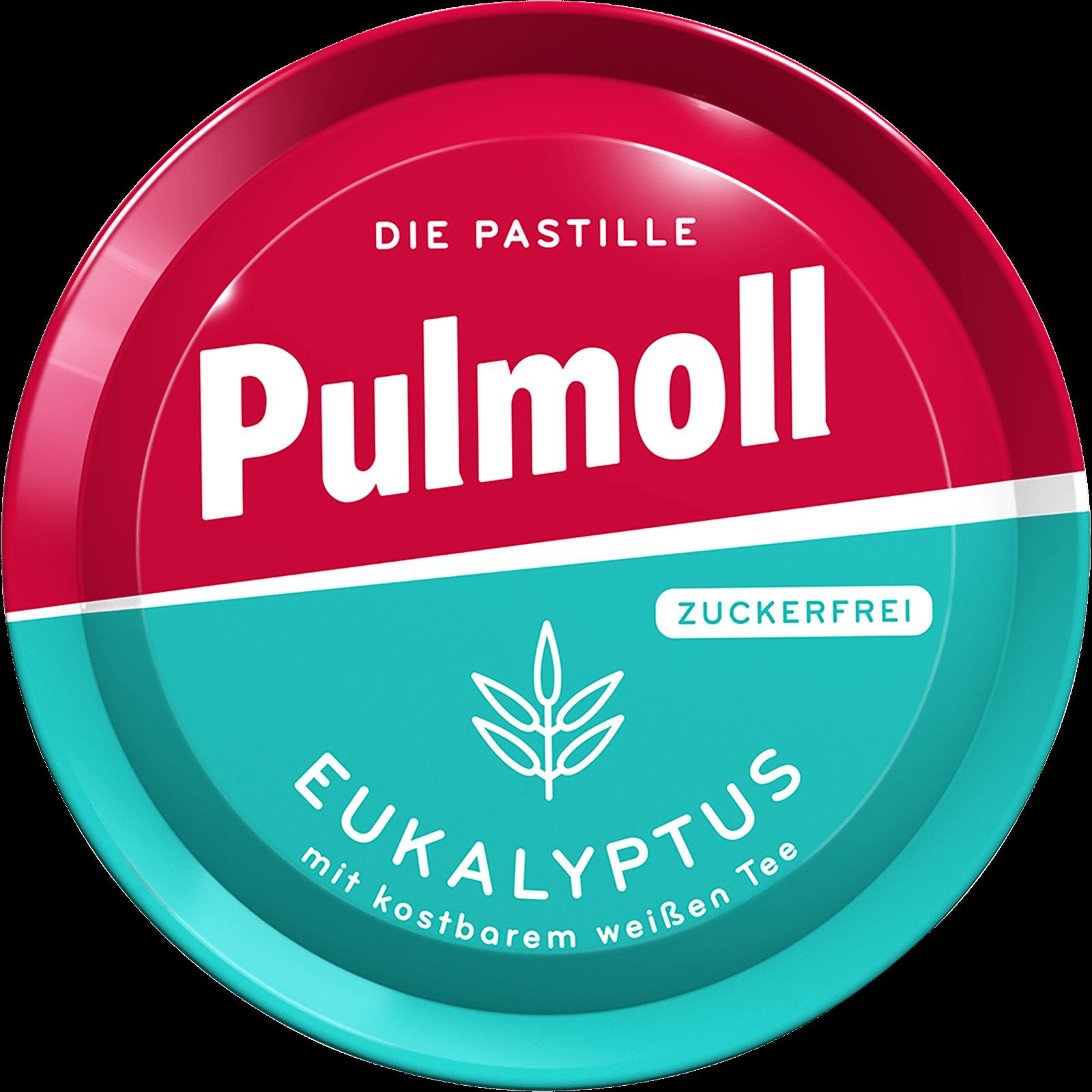 Pulmoll Hustenbonbon Eukalyptus Dose