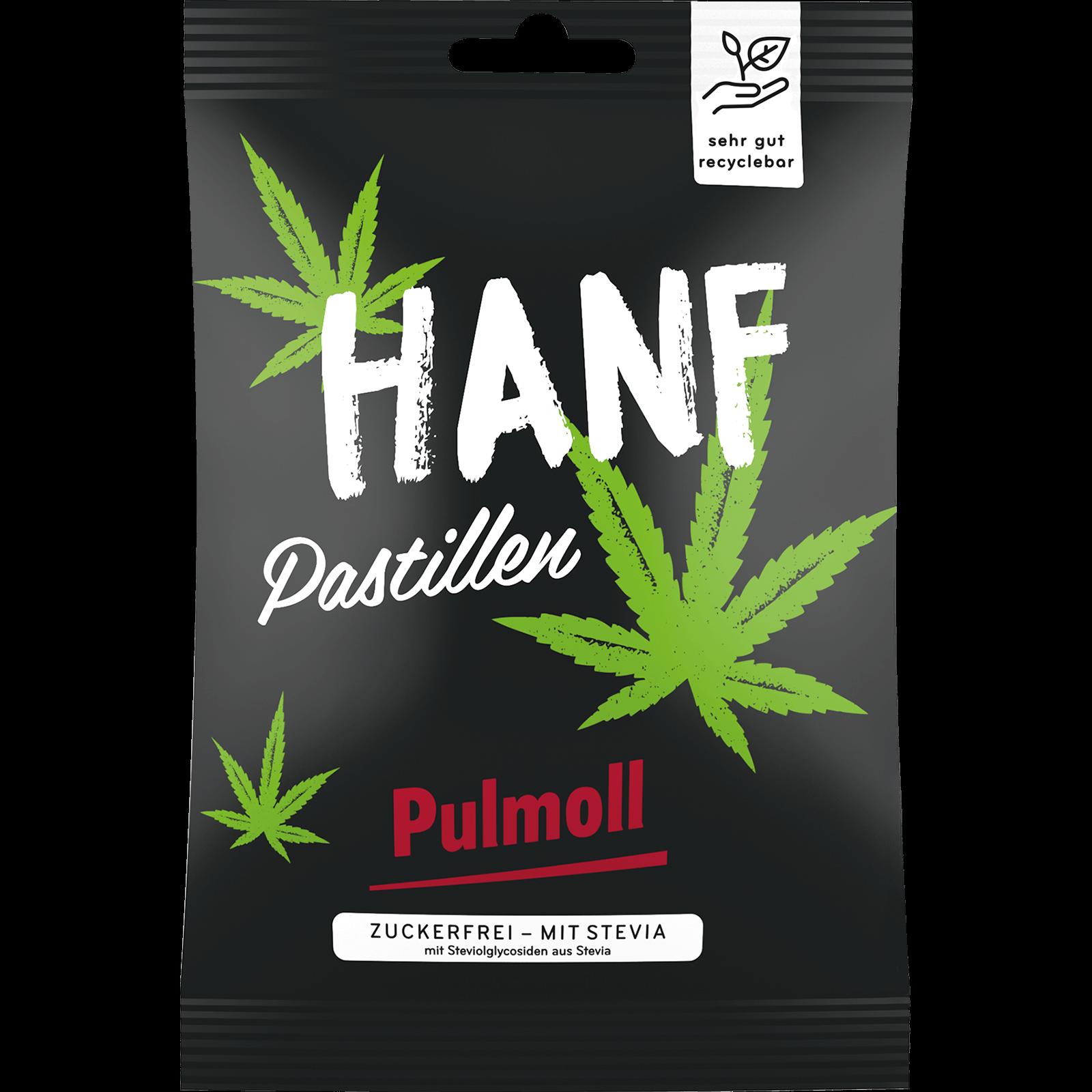 Pulmoll Hustenbonbon Hanf Beutel