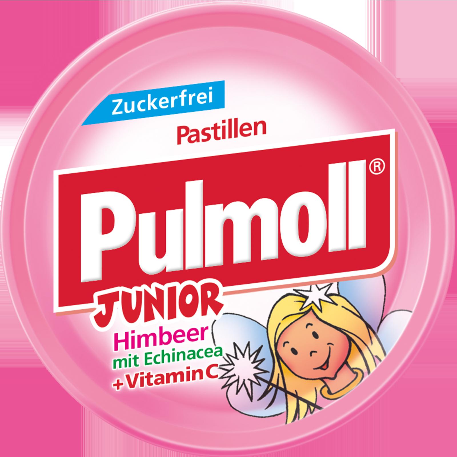 Pulmoll Hustenbonbon Junior Himbeer