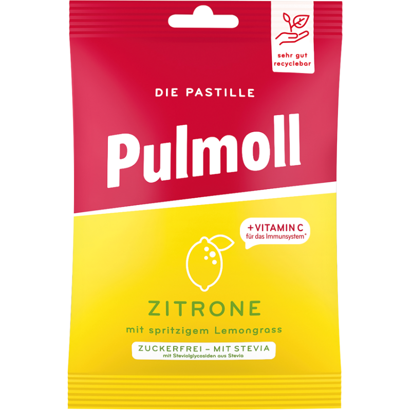 Pulmoll Hustenbonbon Zitrone Beutel
