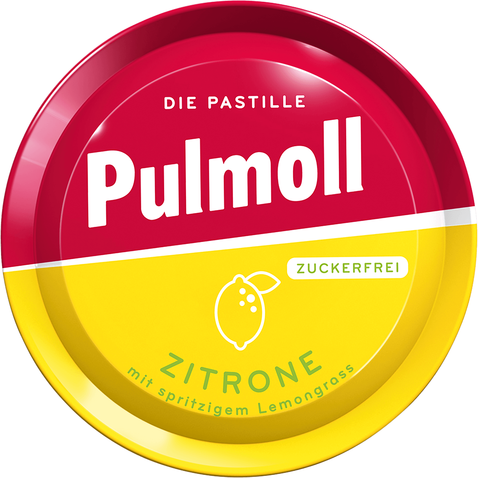 Pulmoll Hustenbonbon Zitrone Dose
